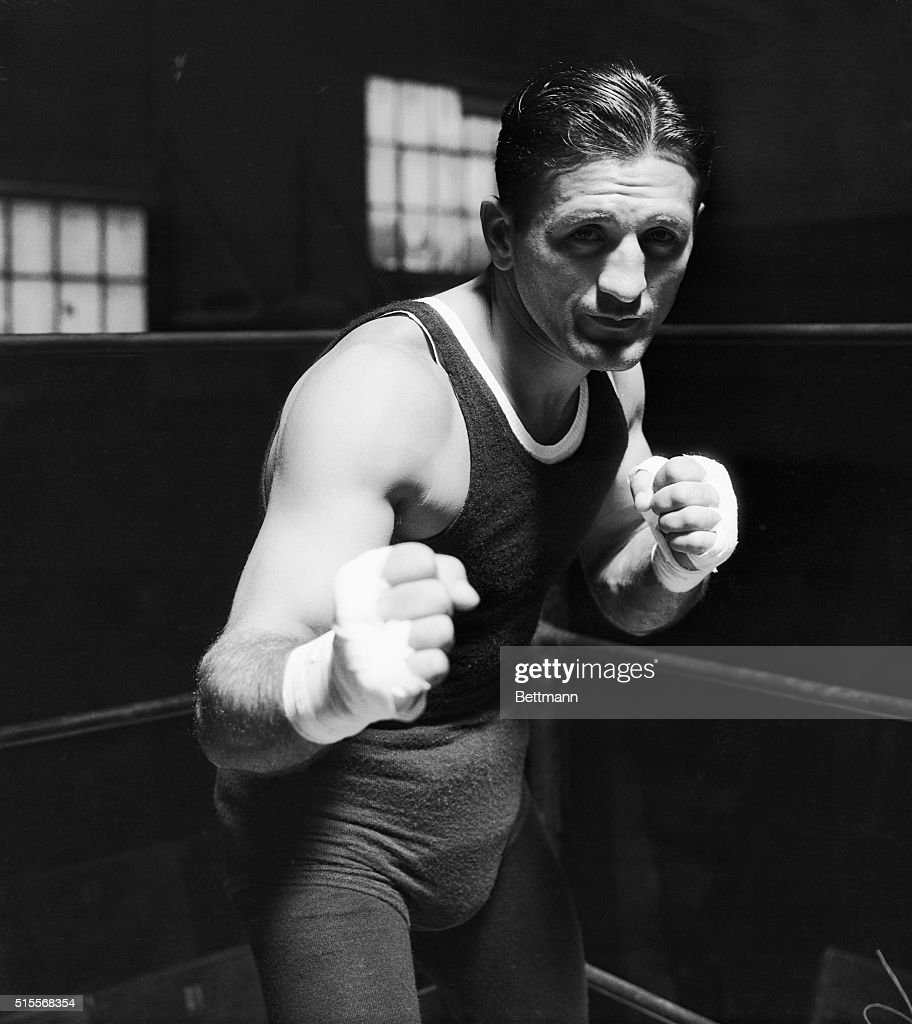 Ready to Bid for World's Welterweight Title Los Angeles Calif Young Corbett who is busily putting the final touches to his training for his bout with...