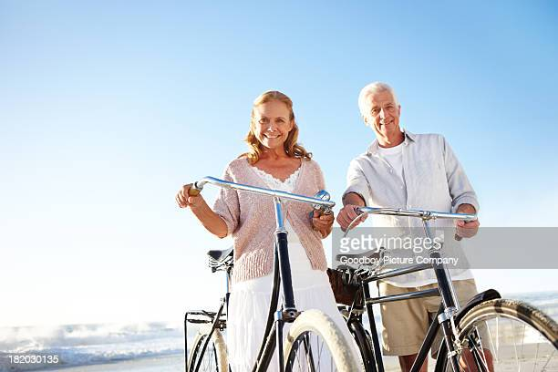 Ready to enjoy a cycling trip together