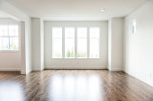 empty living room / waiting for on owner to / furnish it with stuff