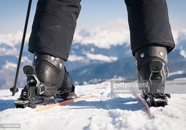 Bereit zum Ski