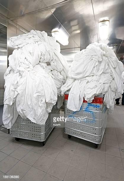Prêt à laver à grandes de blanchisserie