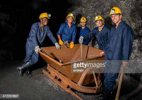 Ready to work underground