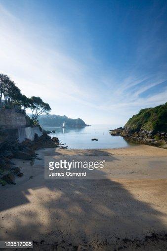 Readymoney Cove, Fowey. Cornwall. England. UK.