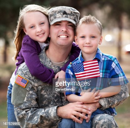 Real Army Family Outdoor