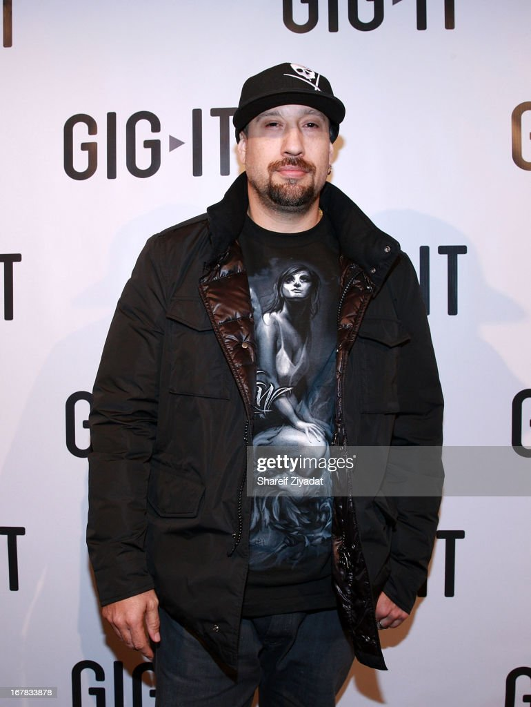 P Real attends the Gig-It Launch Party at Capitale Bowery on April 30, 2013 in New York City.