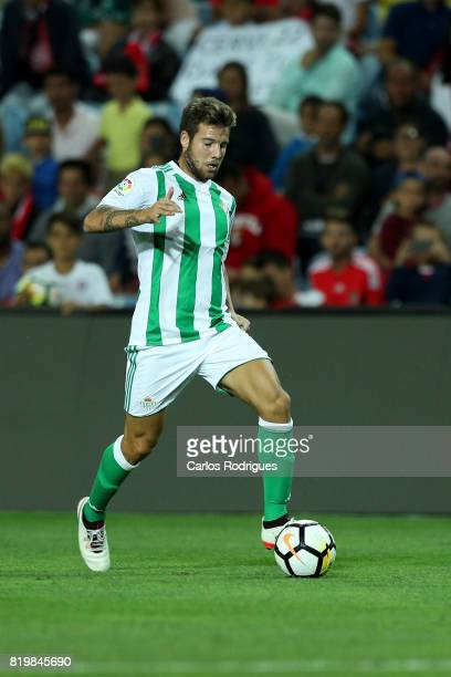 Real Betis defender German Pezzella during the PreSeason Algarve Cup match between SL Benfica and Real Betis FC at Estadio do Algarve on July 20 2017...