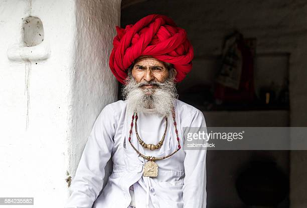 Real character from Indian village