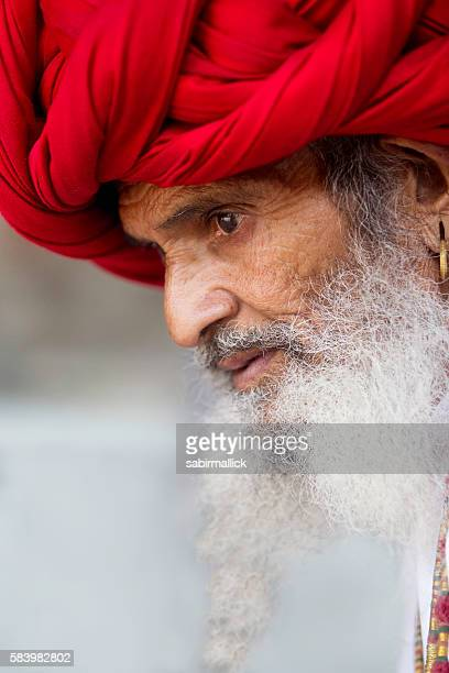 Real Character from Rajasthan, India