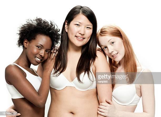 Real Diverse Schöne Frauen