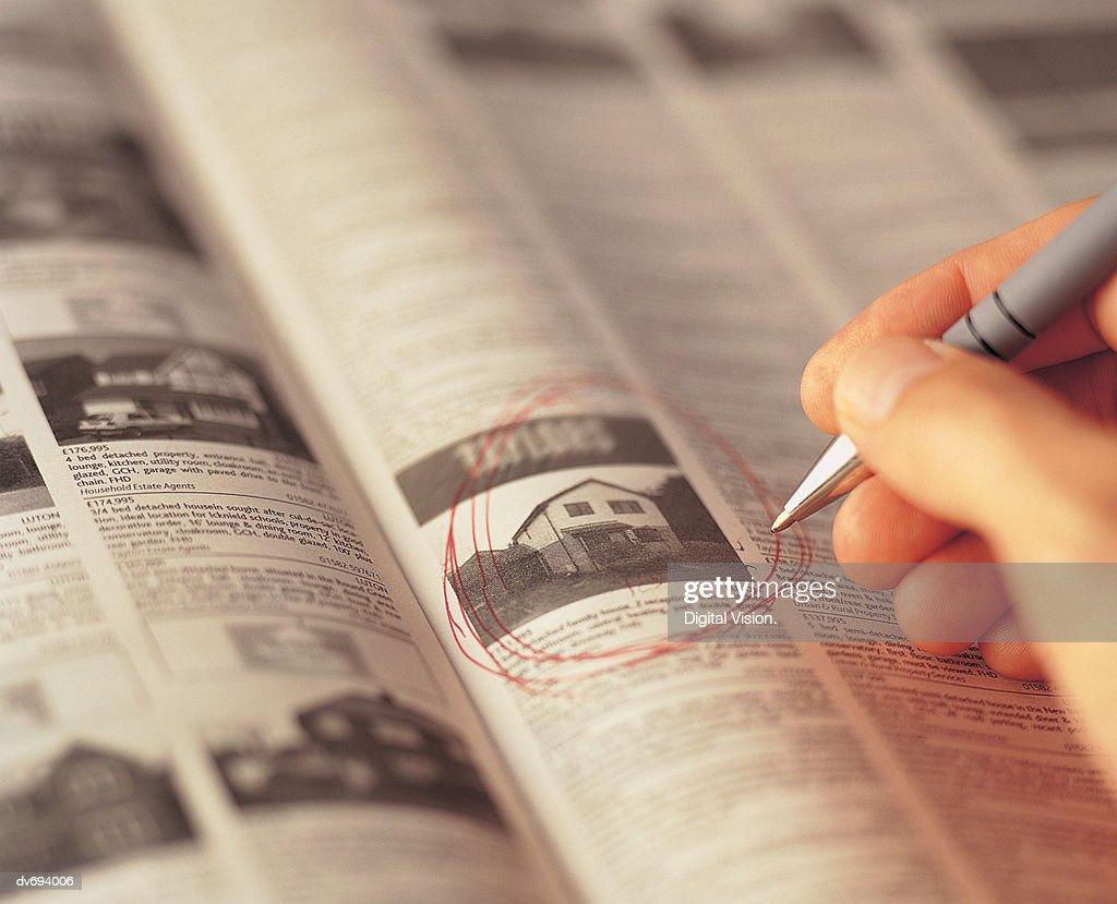 Real Estate Advertisement : Stock Photo