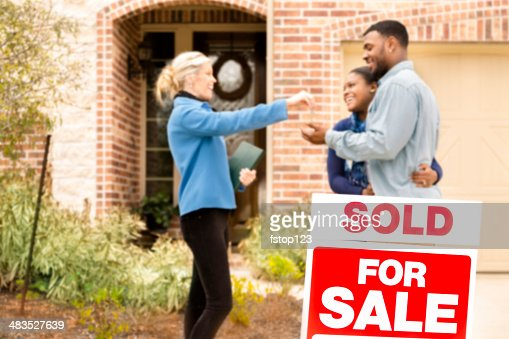 Real Estate: African descent couple buys home. Realtor gives key.