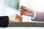 Home Ownership, Human Hand, Sale, USA