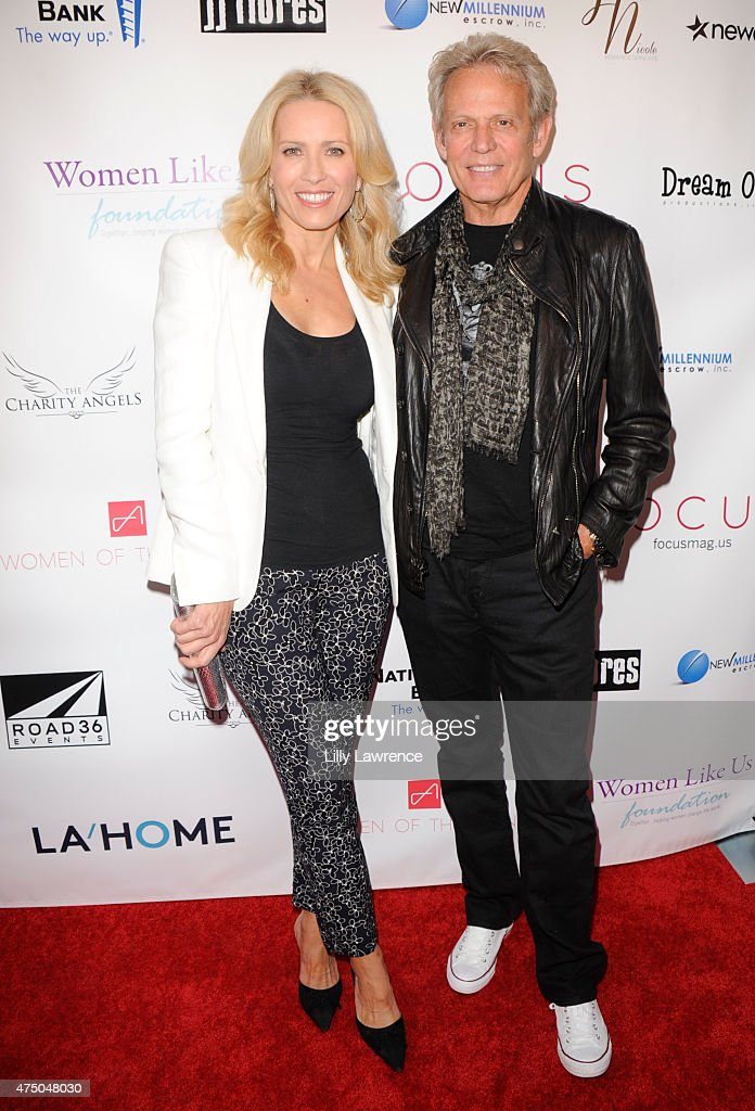 Real Estate Agent Kathrin Nicholson and husband, Musician <a gi-track='captionPersonalityLinkClicked' href=/galleries/search?phrase=Don+Felder&family=editorial&specificpeople=640659 ng-click='$event.stopPropagation()'>Don Felder</a> attend the Women Like Us Foundation's 'A Night To Inspire' presented by Focus Magazine and Women Of The Agency on May 28, 2015 in Los Angeles, California.