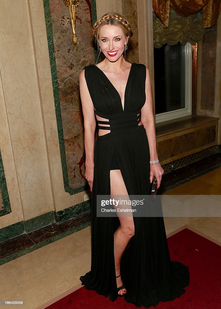 Real Estate agent Melanie Lazenby attends the 16th Annual ASPCA Bergh Ball at The Plaza Hotel on April 11, 2013 in New York City.
