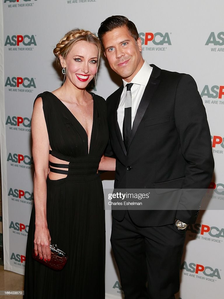 Real Estate agents Melanie Lazenby and Fredrik Eklund attend the 16th Annual ASPCA Bergh Ball at The Plaza Hotel on April 11, 2013 in New York City.
