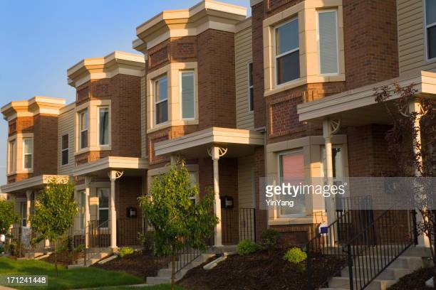 Real Estate Apartment Townhouse Residential Home Building Construction Industry