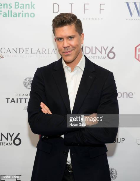 Real estate broker Fredrik Eklund attends Ryan Serhant Hosts 'Million Dollar Listing New York' Season 6 New York Premiere at Marquee on May 24 2017...