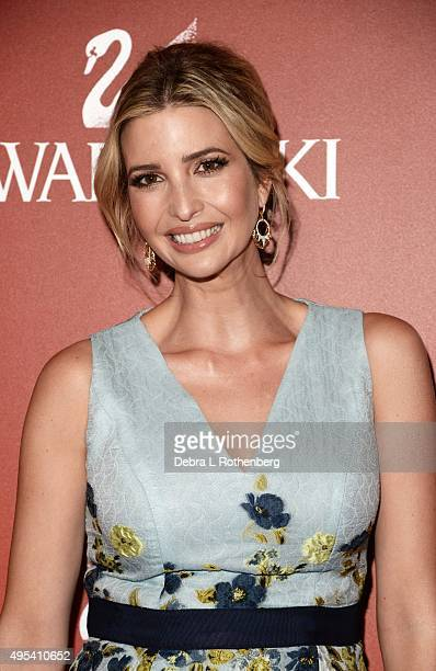 Real Estate Developer and Entrepreneur Ivanka Trump attends the 19th Annual Accessories Council ACE Awards at Cipriani Wall Street on November 2 2015...
