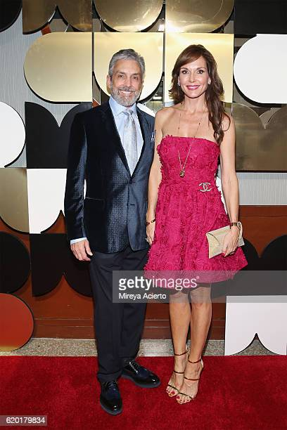 Real estate developer Charles S Cohen and Clo Cohen attend the 60th Anniversary Museum of Arts and Design Diamond Jubilee at Pier Sixty at Chelsea...