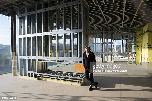 Real estate developer Mohamed Hadid is photographed at one of his construction sites for Paris Match on January 14 2016 in Los Angeles California
