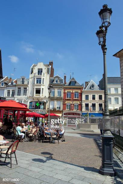 Real estate in SaintQuentin buildings in the town centre 'rue du Petit Butin' street Flemish style town houses