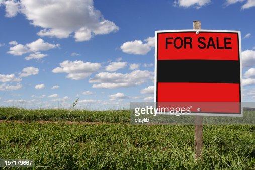 不動産の販売、ブランクサイン