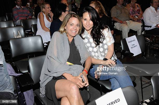 Real Estate Salesperson for Compass in The Hamptons Lori Schiaffino and Chief of Staff to Donna Karan at Urban Zen Foundation Marni Lewis attend...