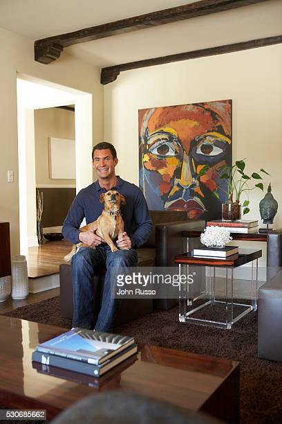 Real Estate Speculator Jeff Lewis at Home