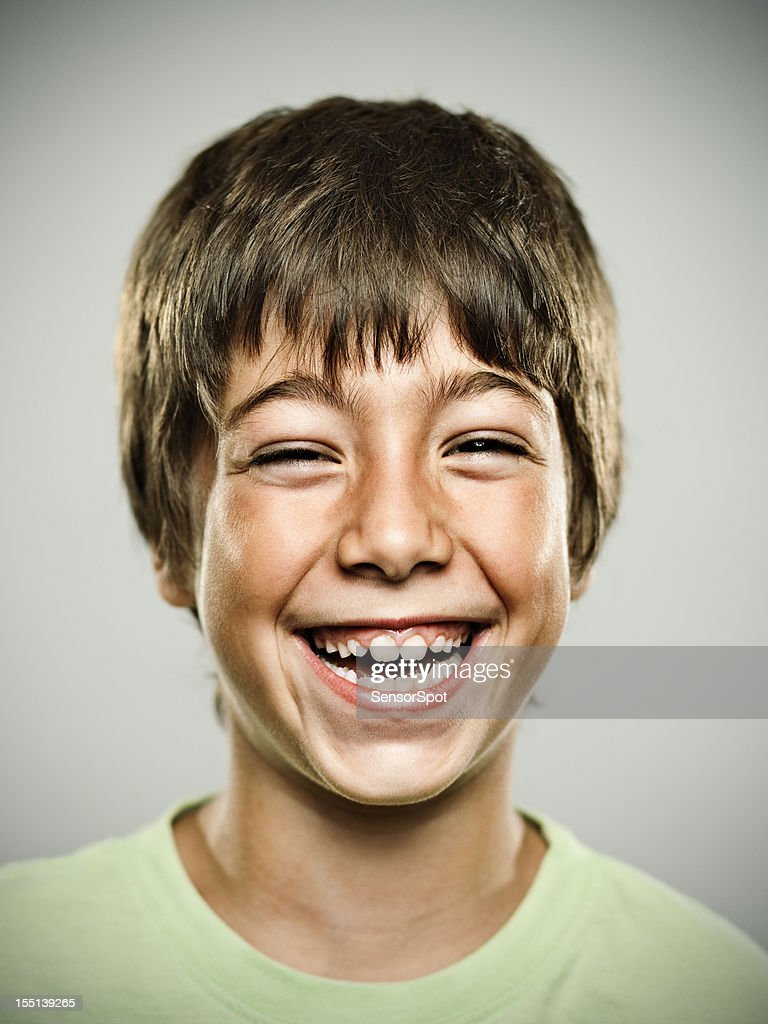 Real happy kid