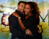 'Real Housewives of Atlanta' cast member Phaedra Parks and Apollo Nida attend Cirque du Soleil TOTEM Premiere at Atlantic Station on October 26 2012...