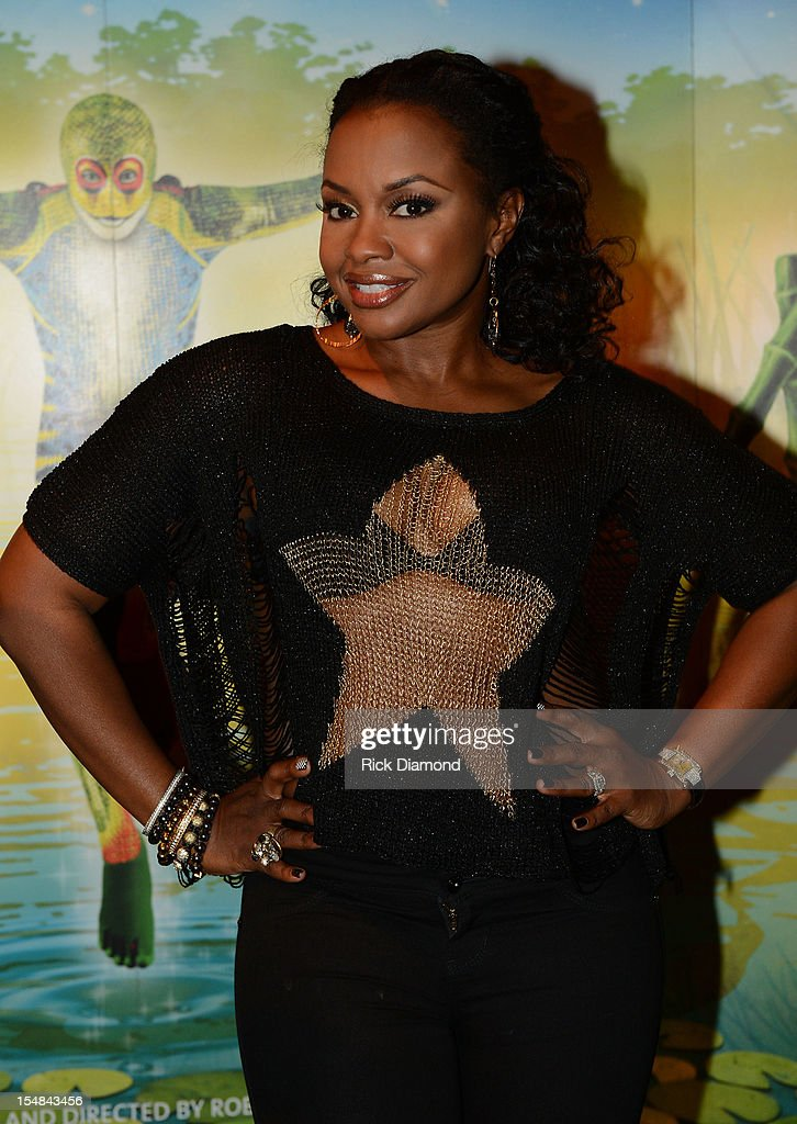 'Real Housewives of Atlanta' cast member Phaedra Parks attends Cirque du Soleil TOTEM Premiere at Atlantic Station on October 26, 2012 in Atlanta, Georgia.