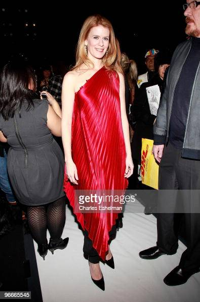 'Real Housewives of New York City' Alex McCord attends the Academy Of Art University Fall 2010 fashion show during MercedesBenz Fashion Week at...