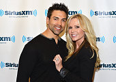 'Real Housewives of Orange County' star Tamra Barney and husband Eddie Judge visit SiriusXM Studios on September 16 2013 in New York City