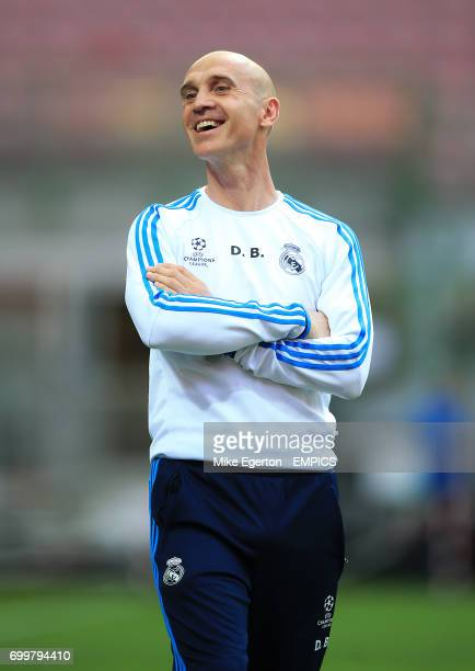Real Madrid assistant coach David Bettoni