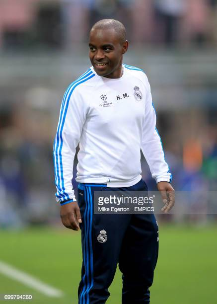 Real Madrid assistant coach Hamidou Msaidie