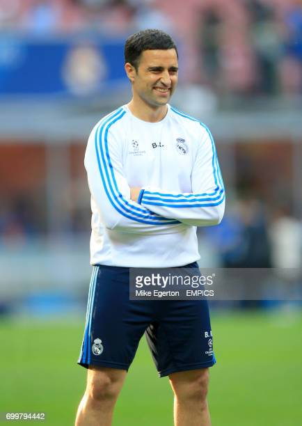 Real Madrid fitness coach Bernardo Requena