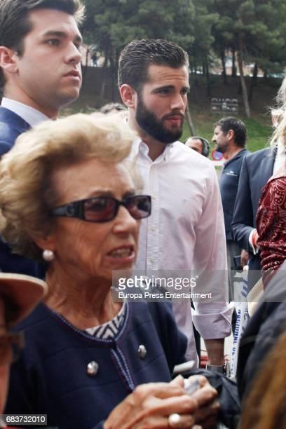 Real Madrid footbal player Nacho Fenandez attends 'San Isidro' Bullfight Fair at Las Ventas bullring on May 15 2017 in Madrid Spain