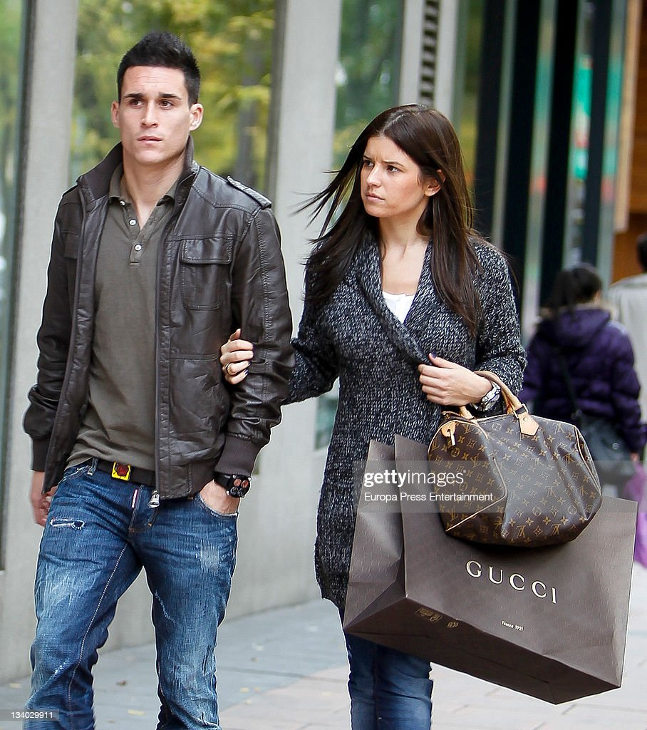 Real Madrid football player Jose Maria Callejon is seen on November 24 2011 in Madrid Spain