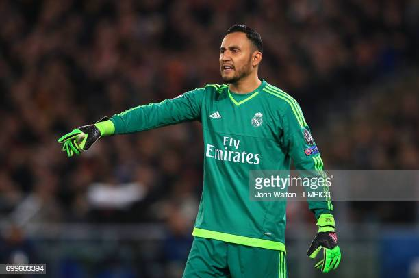 Real Madrid goalkeeper Keylor Navas