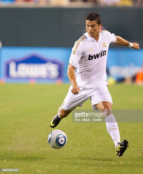 Real Madrid player Cristiano Ronaldo during to the Friendly Match against Philadelphia Union as part of the Herbalife World Football Challenge Real...