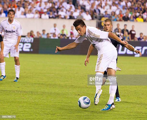 Real Madrid player Joselu during to the Friendly Match against Philadelphia Union as part of the Herbalife World Football Challenge Real Madrid won...