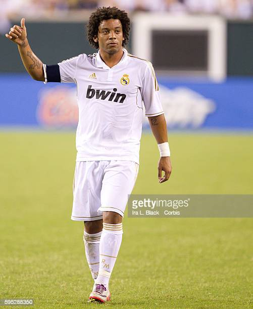 Real Madrid player Marcelo during to the Friendly Match against Philadelphia Union as part of the Herbalife World Football Challenge Real Madrid won...