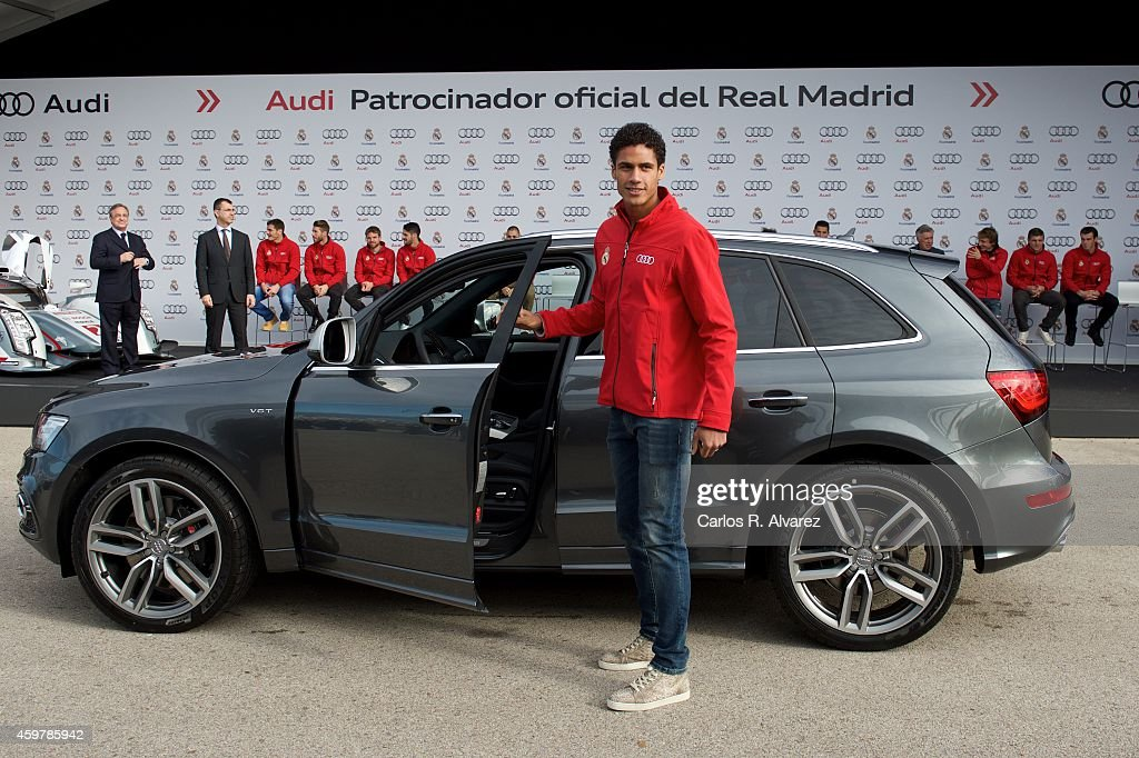 photo of Raphaël Varane Audi - car
