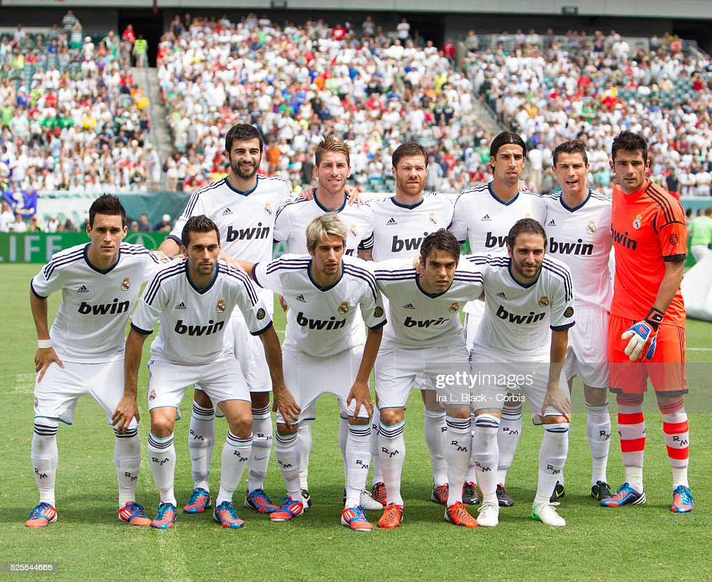 2012 Soccer MLS Herbalife World Football Challenge match Real