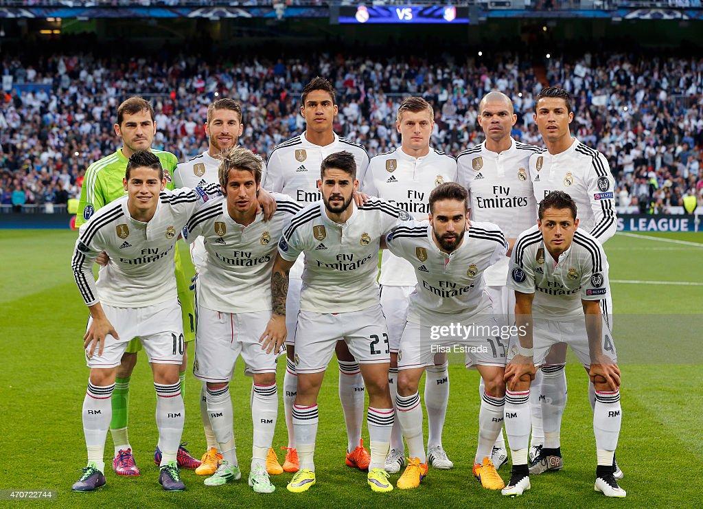 real madrid cf v club atletico de madrid   uefa champions