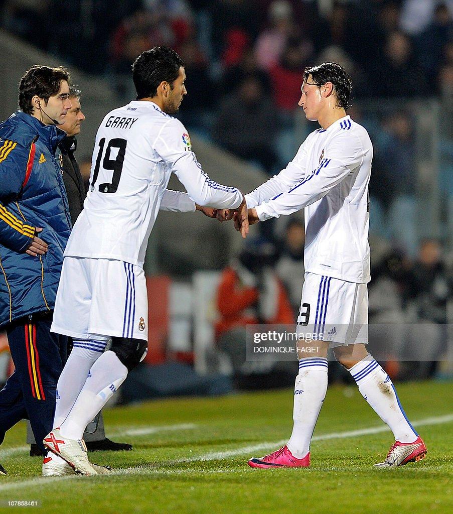 Real Madrid s Argentinian defender Ezequ