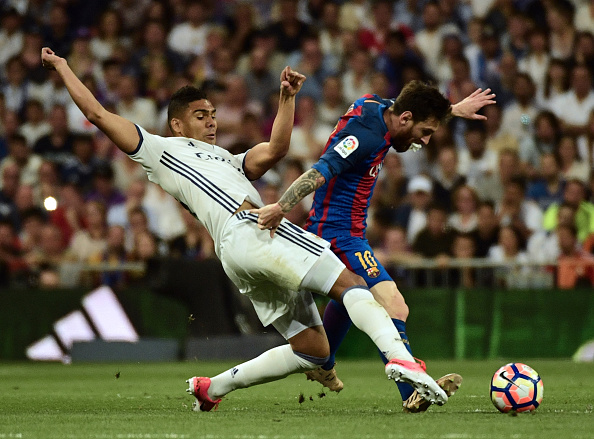 شاهد| كاسميرو يسجل الهدف الأول لريال مدريد