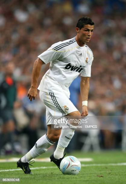 Real Madrid's Cristiano Ronaldo during the game against Al Ittihad