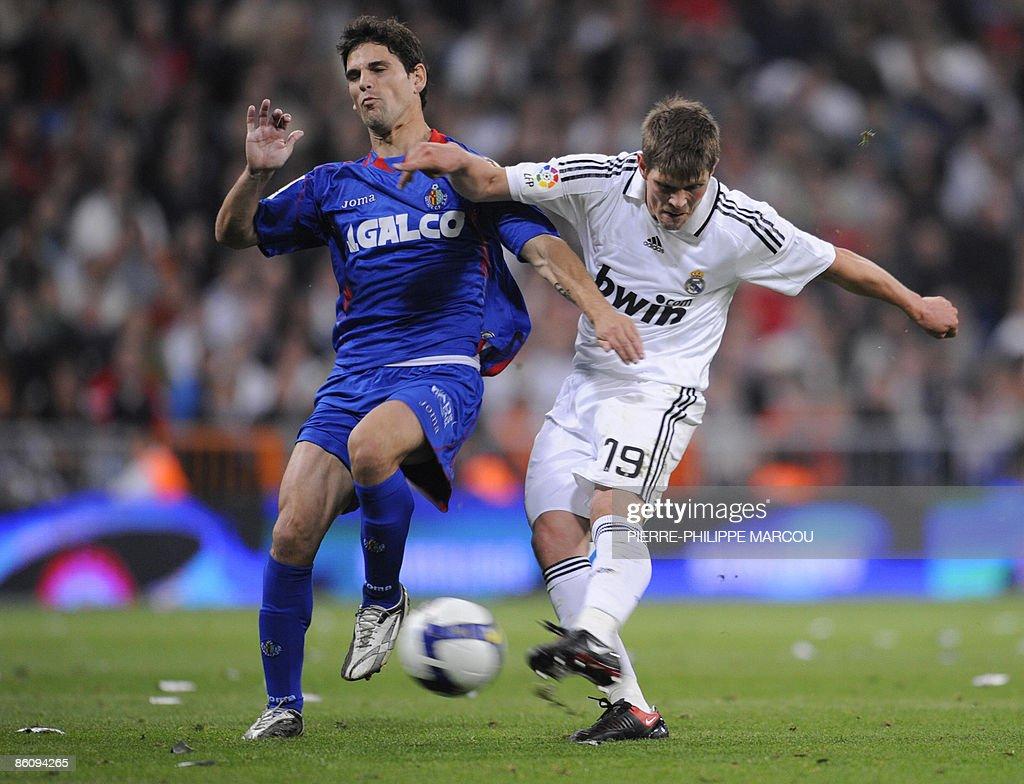 Real Madrid s Dutch midfielder Klaas Jan