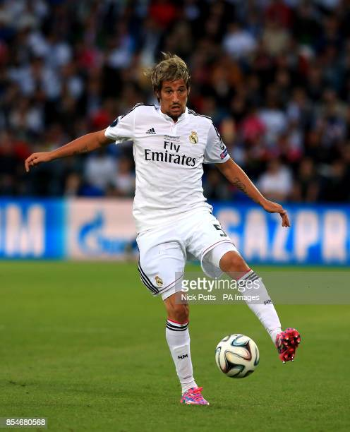 Real Madrid's Fabio Coentrao